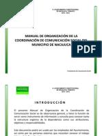 Manual de Organizacion Comunicacion Social