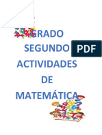 SEGUNDO MATEMATICAS 2°