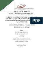 RIVERA JAYO - PRE INFORME - OMISION A LA ASISTENCIA FAMILlAR