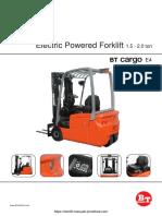 BT C3E 1,5-2 ton Brochure