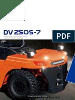 Doosan DV250S-7 Brochure