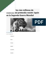 resumen sobre la venganza japoneza