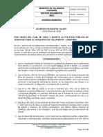 ACUERDO MUNICIPAL 007 DEL 24 DE MARZO DE 2018 POLITICA DE JUVENTUD