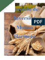 Proyecto de Inversión Molino Harinero