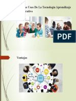 Ventajas Usos De La Tecnología Aprendizaje Colaborativo