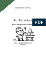 hidrolisis