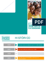 Apresentação - Programa Petrobras Esporte e Cidadania