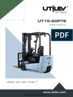 Utilev UT15-20PTE Forklift Brochure