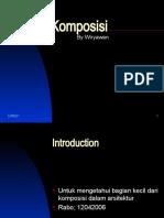 Komposisi ARSITEKTUR (2)