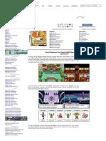 Liga Pokémon » Guía Pokémon Oro Heart Gold_Plata Soul Silver - Pokémon Paraíso