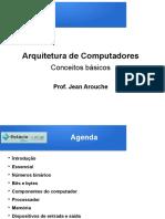 Arquitetura de Computadores - Conceitos Básicos