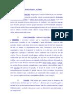 EXAME DOS FATORES DE TIRO