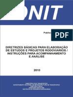 Diretrizes Básicas Para Elaboraçãode Estudos e Projetos Rodoviáriosescopos Básicos Instruções de Serviço