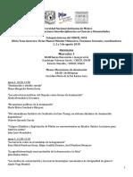 Programa Coloquio CEIICH 2018