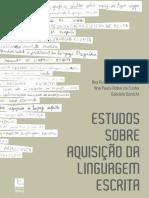 Livro Estudos Sobre Aquisicao Linguagem Escrita VERSÃO DIGITAL