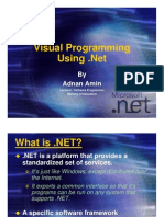 Lecture_3 (What is .Net Technology)