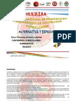 2020.CONMERB ALTERNATIVA Y ESPECIAL 2020