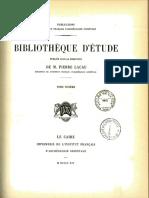 Les Enseignements D_Amenemhaît Ier à Son Fils Sanouasrît Ier (1914)