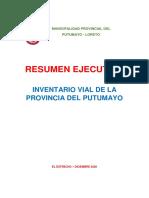 RESUMEN EJECUTIVO INVENTARIO VIAL PUTUMAYO_2020