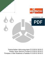 Drehschieber-Vakuumpumpen R 5 0010_ 0016 D Rotary Vane ...