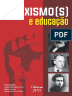 SCHLESENER, Anita; MASSON, Gisele; SUBTIL, Maria. Marxismo[s] e Educação
