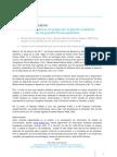 Nota Informe Acceso Grandes Ferias España