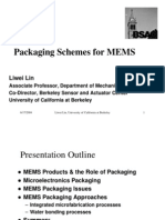 [L-17] Packaging Schemes for MEMS