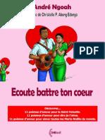 A. NGOAH ECOUTE BATTRE TON COEUR BAT PUBLICATION E BOOK