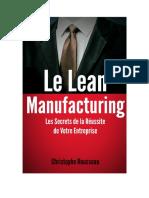 Le Lean Manufacturing