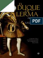 Alvar Ezquerra Alfredo - El Duque De Lerma.new