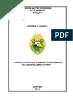 2015 - Diretriz 008 - Controle, Seguranca e Emprego dos IMPO_ alterada Adendo 22 Dez 15