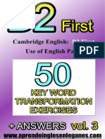 B2 First 50 KWT Exercises Vol.3.