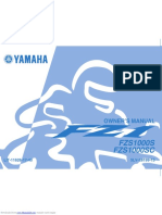 fz1 owner's manual