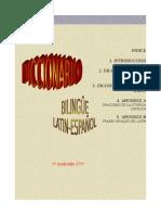 Diccionario bilingûe latino-español