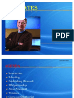 Bill Gates PPT