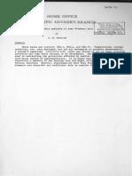 A12.SA PR113 a Preliminary Analysis of Some Flambeau Data