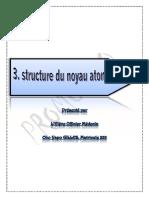 03. Structure Du Noyau Atomique OK