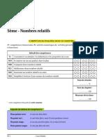 Sami Nombres Relatifs Cours 1