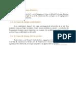 catégories de risque (1)