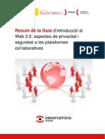 (Versió en Català) Resum de la Guia d´introducció al Web 2.0