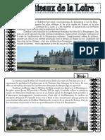 Les Chateaux de La Loire 13 Comprehension Ecrite Texte Questions Comprehension 14896