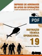 ITO 19 - Emprego de Aeronaves em Apoio às Operações do CBMMG