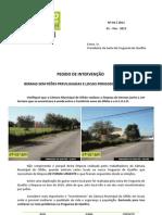 2011 - Fev  - Pedido de Intervenção nº 4 - Limpeza de Bermas - Terreno Favorecido em Quelfes