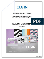 Manual serviço-ELGIN-DECORA-JX-2080