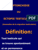 CRYPTORCHIDIE OU ECTOPIE TESTICULAIRE2017 (1)(1)