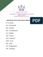 Apostila Tarô Arcanos Maiores de 11 a 21