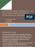 Acute Perforate Apendicitis jurnal dr maya