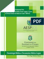03 Apostila PEFOCE 2015 - Medico Perito Legista 1ª Classe - Deontologia