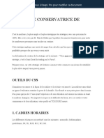 Conservative Sniper Strategy - Revised Version Fr