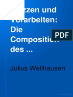 Bub_gb_CO4WAAAAYAAJSkizzen Und Vorarbeiten Wellhausen, Julius, 1844-1918